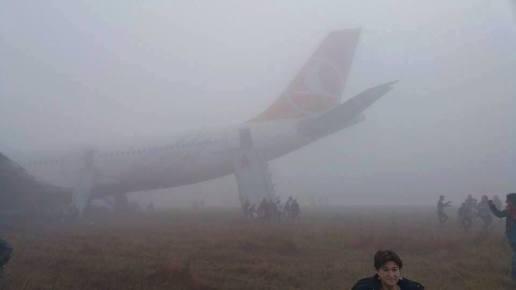 Turkish Airlines Crash THY726 evacuation