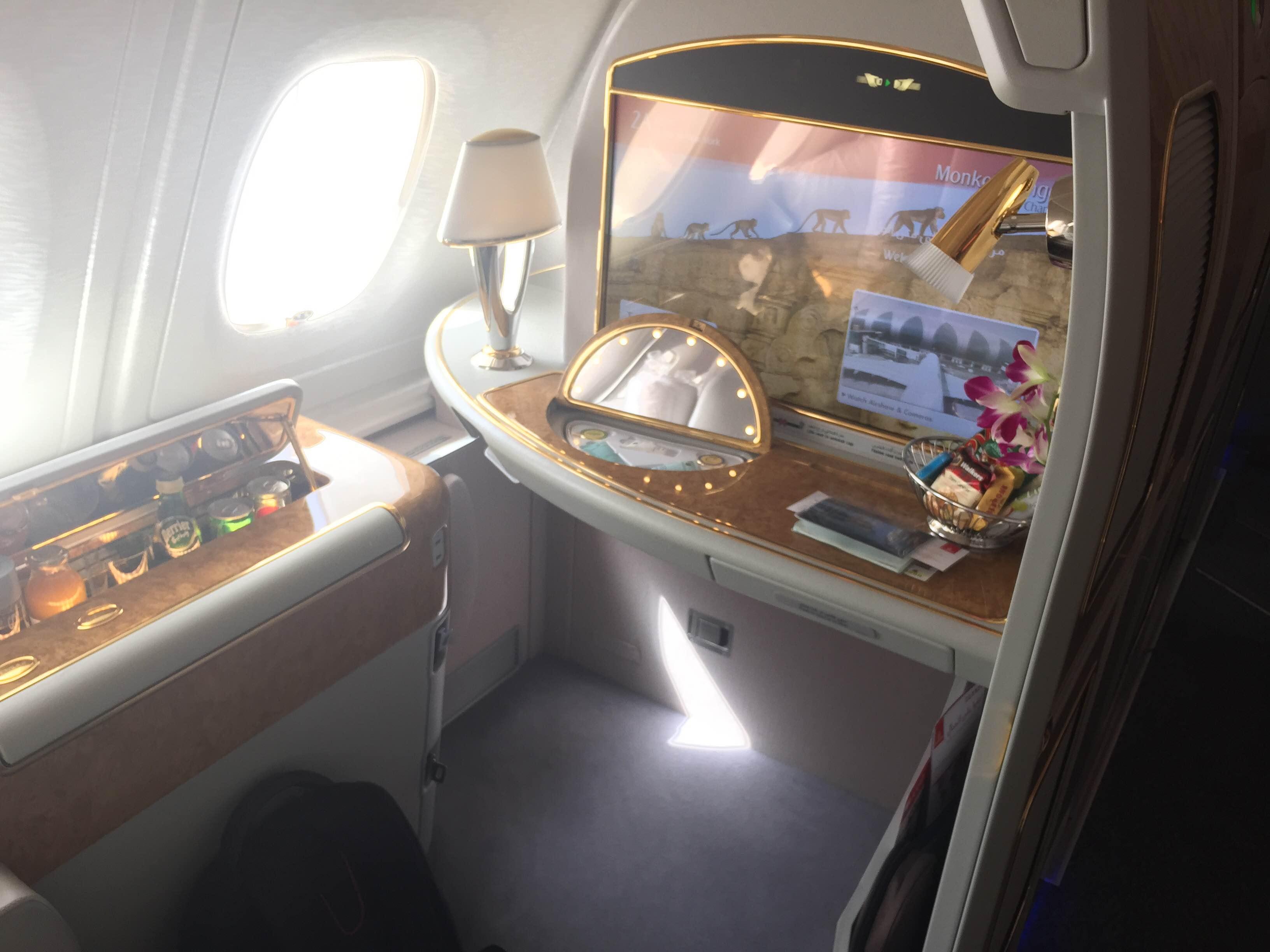 flight review emirates first class dubai york